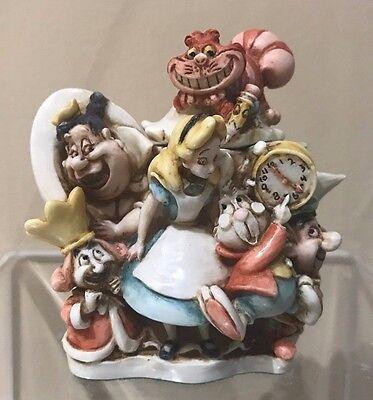 Disney Harmony Kingdom Figurine New in Box - Super Rare Alice in Wonderland LE