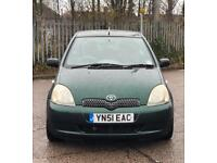 Toyota Yaris 1.3 VVTI for sale £850 Ono