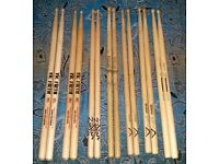 mixed drum sticks