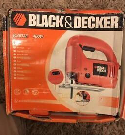 Black & Decker jig saw