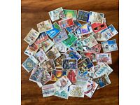 50 UK Christmas Commemmorative Stamps