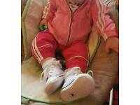 Adidas Baby Tracksuit 0-3 Months