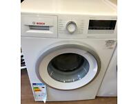 BRAND NEW BOSCH 8KG 1400 SPIN WASHING MACHINE IN WHITE ABSOLUTE BARGAIN ...!!!!