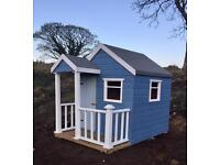 Fully painted playhouses!