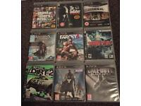 PS3 GAMES GTA GODFATHER DIRT ETC