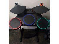 Xbox 360 Guitar Hero drum