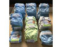 30 Washable Bumgenius Nappies - Full complete set