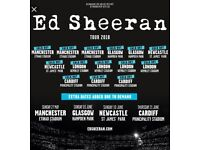 Ed Sheeran standing tickets x2, Hampden Park - Glasgow, Saturday 02/06