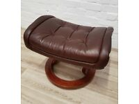 stressless footstool (DELIVERY AVAILABLE FOR THIS ITEM OF FURNITURE)