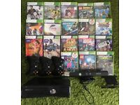 XBOX 360 KINECT + 18Games/3 wireless controllers