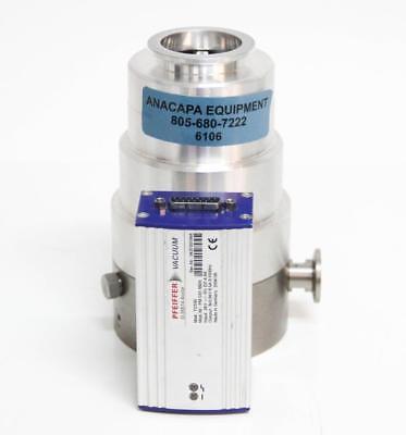 Pfeiffer Tc100 Pm C01 692a Controller V.i.c. Turbo Pump Tmh 071 P X 6106