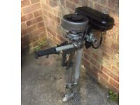 Seagull Featherweight Outboard Engine Motor Requires TLC or Mechcanic