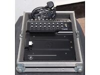 Mackie DL1608 Wireless Mixing Desk with Swanflight Flight Case and Lightning Adapter