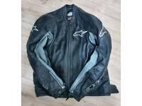 Alpinestars Leather Motorbike jacket