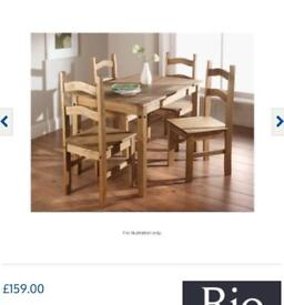 Rio table & chairs