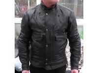 BKS Leather Motorcycle Jacket