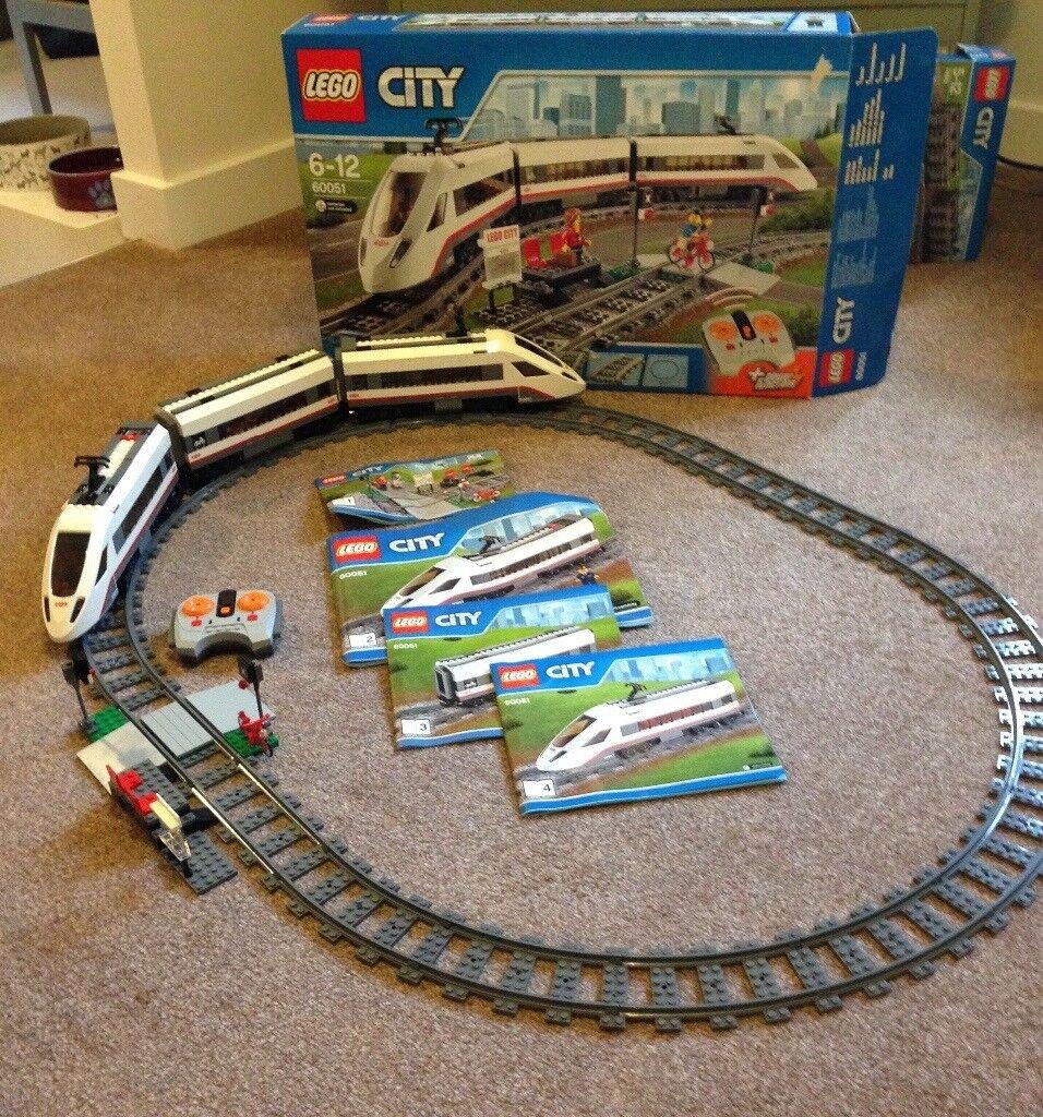 Lego city trainset