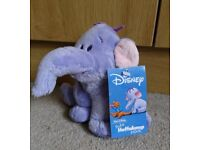Limited edition Walt Disney Winnie the Pooh Heffalump movie soft toy, new with tags