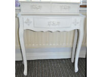 £48 ONLY - French Style Shabby Chic 3 Drawer Dressing Table
