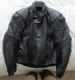 Hein Gericke leather jacket/trousers and Weise weather jacket