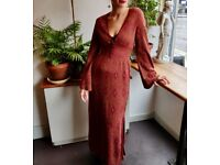 Zara maxi evening dress