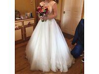 Mori lee 2607 size 12 wedding dress