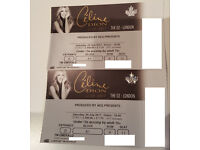 Emerald VIP Celine Dion Concert Tickets London O2 29.07.2017