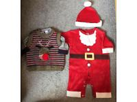 Next Boys Christmas Clothes - up to 1 month (generous fit)