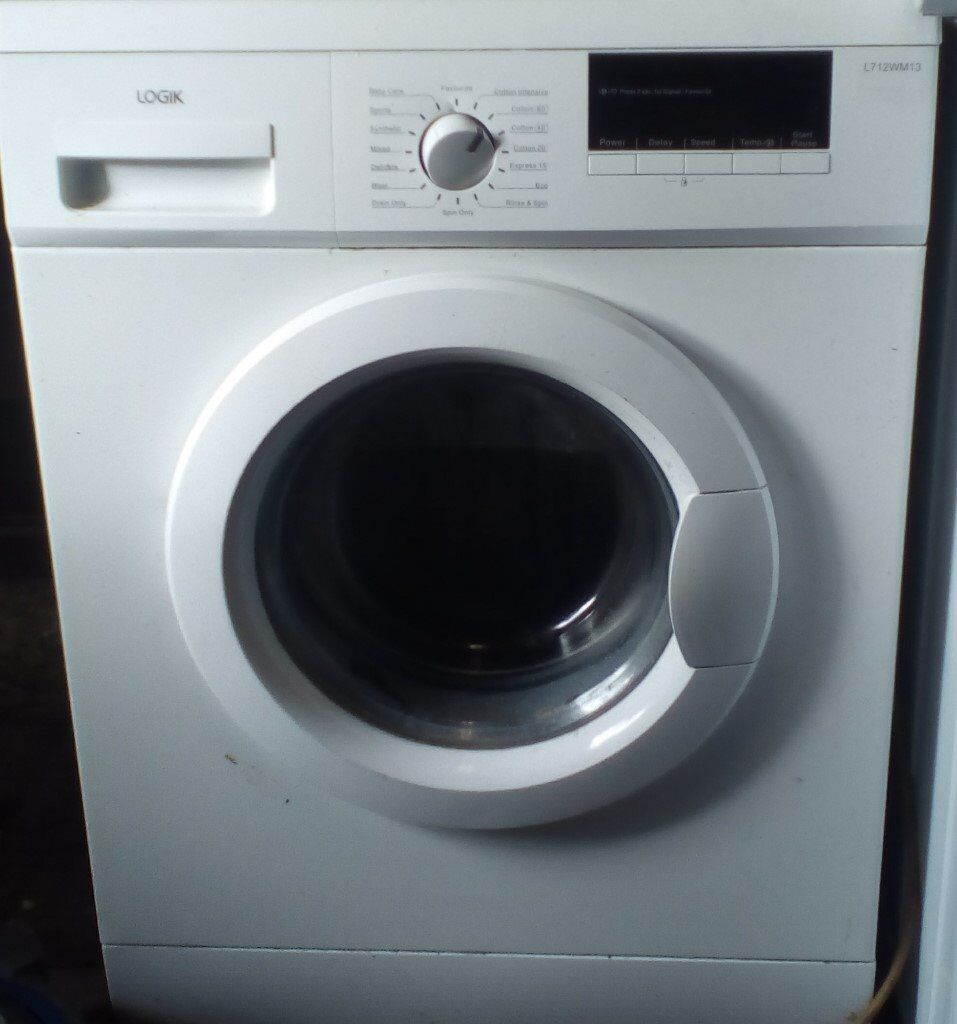 lOGIK WASHING MACHINE ..GUARANTEE AND DELIVERY INCLUDED