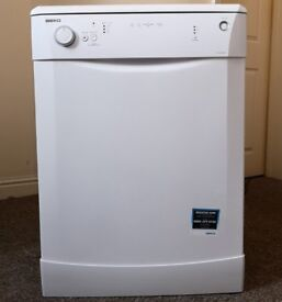 In Bideford An Immaculate Beko DL1243 Large 12 place setting AAA Class Energy 'A+' Rated Dishwasher