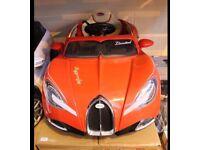 BUGATTI STYLE CHILDREN'S SIT AND RIDE CAR