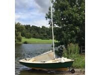 Wanderer Dinghy with extras for sale, great for beginners or experienced sailors