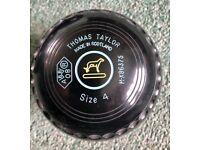Bowls - Set of Thomas Taylor Lawn Bowls