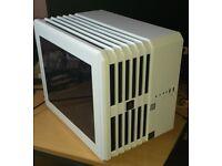 Corsair Air 240 Windowed Mini ATX/ITX Carbide Series High Airflow Cube Case for PC - White