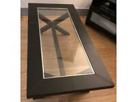Lovely Black Coffee Table in Excellent condition - £80