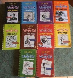 Wimpy kid books