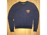Men's Superman Jumper- Small. £5.00