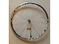 ***SHIMANO RS80 CARBON/ALLOY FRONT WHEEL (VERY GOOD CONDITION)***