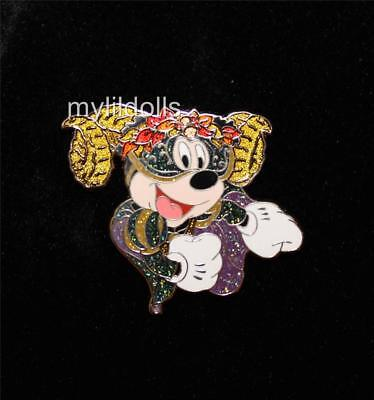 Masquerade New Orleans Halloween (Mickey Mouse New Orleans Halloween Masquerade Pin LE 100)