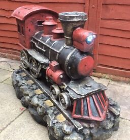 Locomotive, Large Water Feature.