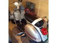 2011 Lml(vespa)125 malossi swap motorbike
