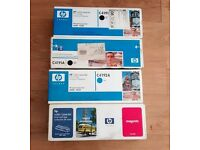 4 x New Hewlett Packard Toner Cartridges for Laserjet 4500 ~ 4550 Series