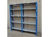 2 Bays Of Industrial Shelving