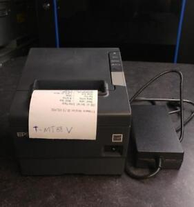 EPSON TM-T88V POS Thermal Receipt Printer M244A USB interface with power supply