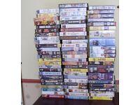 Seventy VHS Videos Job Lot
