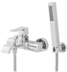 Great offer! Hudson Reed Lona bath shower mixer kit with hose and handset.