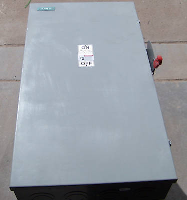 Siemens Hf325nh Safety Disconnect Switch 240 V 400 Amp