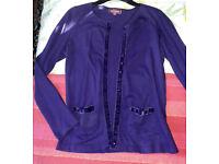 Nomads Cardigan Purple size S