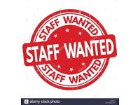 Takeaway Staff Required