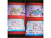Pink 3DS XL 134 Games
